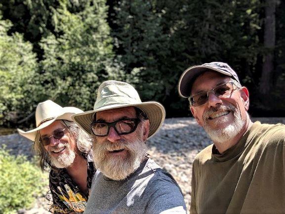 Three Bros in a Tipi