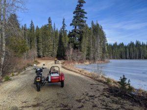 Arriving at South Prairie Lake