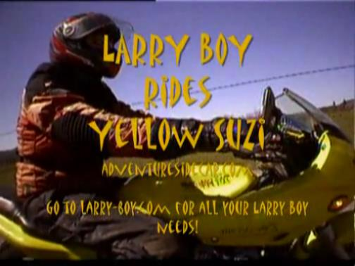 Throwback Thursday – Larryboy