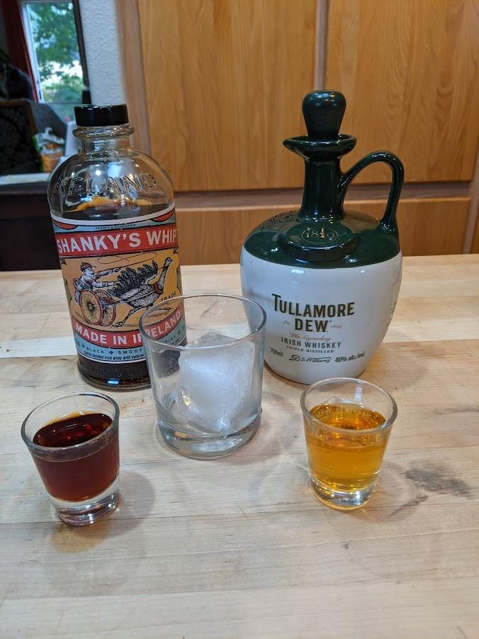 Shanky's Whip & Tullamore Dew